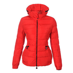 DG6937 Moncler Womens justo pacote em capa Curto Red Jacket [6261]